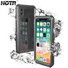 HOTR for iphone X Waterproof Case Swimming Diving Surfing Watertight Cover for Apple X 10 Full Protect Phone Bag Functional Keys(China)