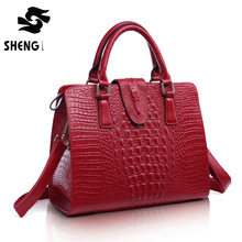 Luxury Handbags Women Bag Designer  High Quality Fashion Crocodile Tote Bags Handbag Women Real Leather Tsoe