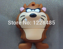 cute usb flash drive U disk cartoon tiger /lion usb flash drive 4GB 8GB 16GB 32GB usb flash memory stick pen driv  S50