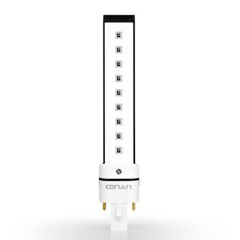 4 Pcs M405-9 365 + 405nm UV CONDUZIU a Lâmpada do Bulbo Para A Substituição Da Lâmpada UV Do Prego Secador Nail Art Gel Polonês ferramenta