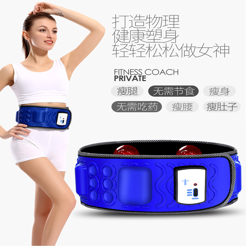 1PC New arrive Slimming Massage belt Sauna Weight loss massage belt with 5 motor<br>