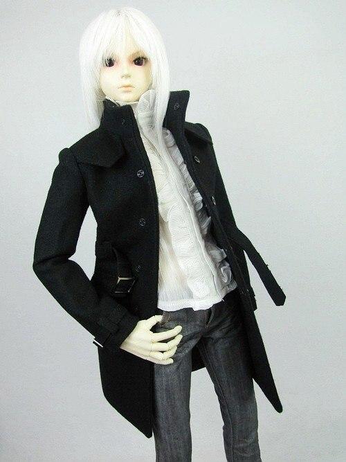 [wamami] 500# Black Tweed Coat/Outfit SD17 DZ70 BJD Dollfie<br>