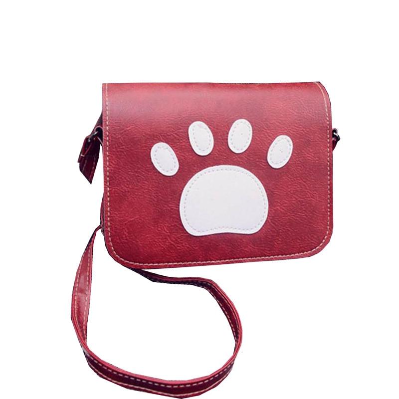 New Year Gift Fashion Women Mini Bag Dog Paw print Messenger Bags Trendy Handbags Spain Summer Syle Crossbody Bag WB418<br><br>Aliexpress