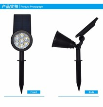 IP 65 led solar garden light gardeners eden solar powered garden light  solar decorative light auto color change