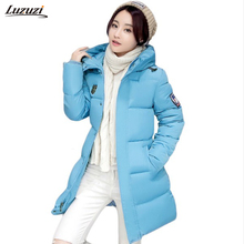 1PC Winter Coat Women Jaqueta Feminina Inverno Hooded Parkas Winter Jacket Women Chaquetas Mujer Z512