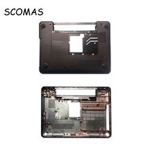 SCOMAS Hot Laptop LCD Front Cover B D Case for Dell Inspiron 14R N4110 07GHF Front Bezel Black D Cover Bottom Case Housing