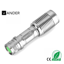 1PC Outdoor Travel Camping Mini Flashlight Focus 2000 Lumens 5 Modes XML T6 LED 18650 Flashlight Torch Lamp Powerful