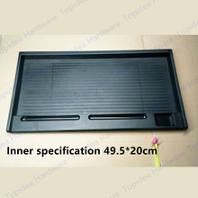 Outer 51.5*27cm / Inner 49.5*20cm Computer desk keyboard tray drawer rail  keyboard
