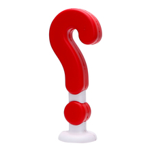 Decoration Exclamation Question Mark Auto Roof Decoration Ornament Accessories 3D Car Sticker Car-styling