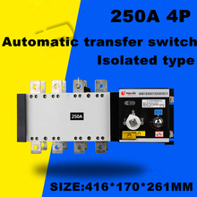 4P 250A 380V Isolation type Dual Power Automatic transfer switch ATS(China)