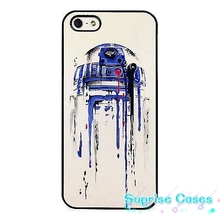 R2D2 Droid Star Wars Canvas Art cellphone Case Cover for iphone 4 5s 5c SE 6 6s 6plus 7 7plus Samsung galaxy s4 s5 s6 s7 edge