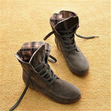 2017 Autumn and Winter Boots Snow Boots for Women Martin Boots Suede Leather Boots Couples Shoes Cotton PA875884