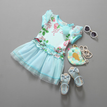 Kimocat Flower Girl Dress Princess Wedding Party Dresses Fnfant For 2 Year Old Korean Elsa Fruit Green Cheap Clothes China Prom