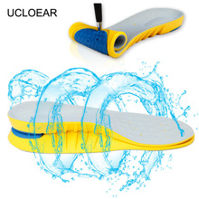 High Quality Anti-Slippery Memory Foam Insoles For Shoes BreathableArch Support Foot Pads Massage Running Sport Insole XD-029(China)