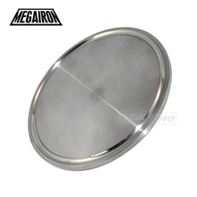 "MEGAIRON 3"" OD 76mm Sanitary Blind Disk Flange End Caps fits 3"" Tri Clamp Block Pipe Fittings SS316(China)"