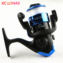 1x Most Cheap Spinning Fishing Reel 3 Ball Bearing Fishing Line Winder Speed Ratio 5.1:1 with 50m Line Fishing Tackle Low Price