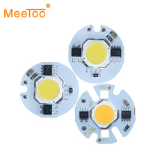 Smart IC LED COB Lamp Light Bulb Chip 9W 7W 5W 3W 220V 110V Input Driver Fit For DIY Spotlight Cold White Warm White(China)