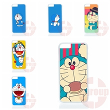 Cell Cover Case cute doraemon blue cat color For Samsung Galaxy S2 S3 S4 S5 S6 S7 edge mini Active Ace Ace2 Ace3 Ace4