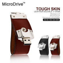 Leather usb flash drive fur key chain pendrives 8gb 32gb commercial memory stick 4gb 16gb gift usb creativo