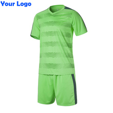 2017 New Kids Team Soccer Short Jersey Set Blank Survetement Football Uniforms Kit Running Training Tracksuit Design