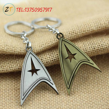 2015 Fashion Movie Key Chain Star Trek Alloy Key Chain Pendant Europe and the United States Ebay Selling Wholesale