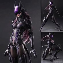 Boxed Final Fantasy Figure Play Arts Change DC Activities Catwoman  Doll Movie PVC Action Figure Resin Collection Model Toy Gift