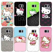 G471 Doraemon And Hello Kitty Transparent Hard PC Case Cover For Samsung Galaxy S 3 4 5 6 7 8 Mini Edge Plus Note 3 4 5 8(China)