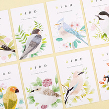 30pcs spring bird sing design postcard say love secret invitation Greeting Cards gift cards Christmas postcard & invitation