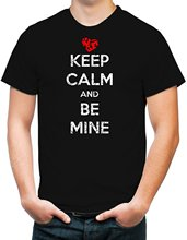 Buy Gildan Men's Keep Calm Mine Valentine's Day T-Shirt for $12.19 in AliExpress store