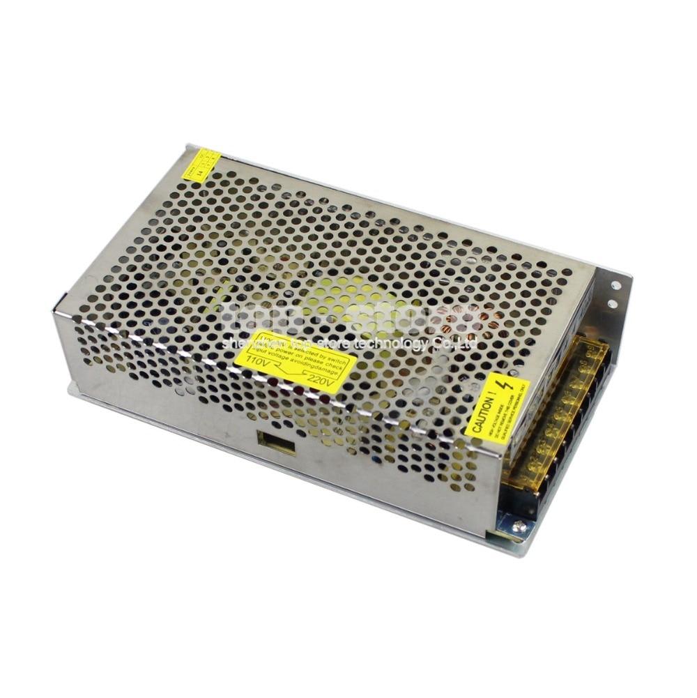 DIYSECUR High Quality LED Lights Devices Switching Power Supply 24V10A AC-DC PSU 240W 110V / 220V / 230V<br>