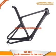 2016 New product hot bike full carbon bicycle frame Aero design for racing