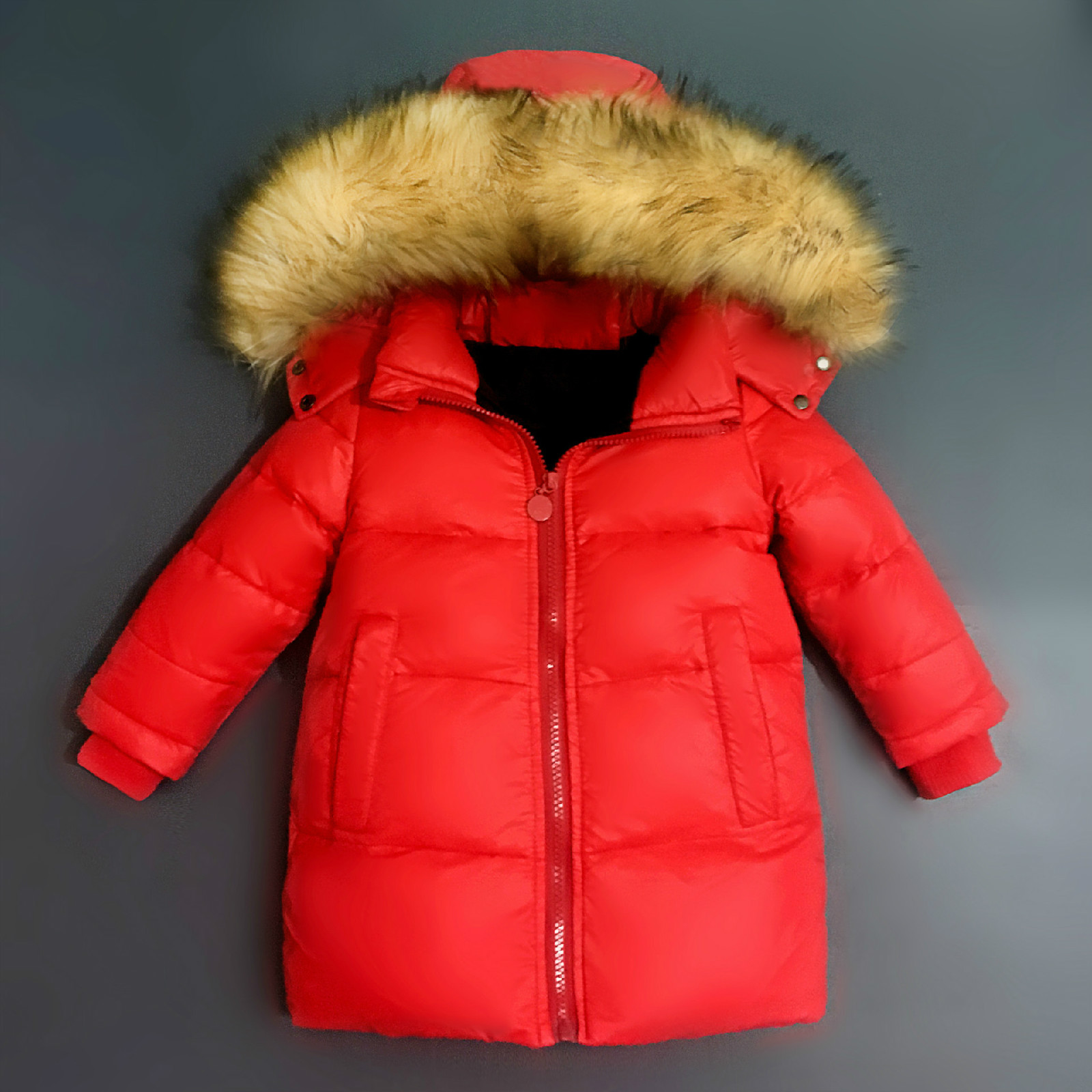 New Year White Duck Down Jacket Thin Down Jacket Girls Teenagers  Down Jacket Children Winter Filling Down Jacket Boy<br>
