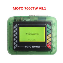 2017 High Quality Professional Motorcycle Scanner MOTO 7000TW V8.1 Universal Motorbike Scan Tool with Multi Languages DHL Free