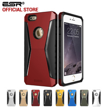Case for iphone 6 6 Plus, ESR Defender Armor Tri-Layer soft TPU Rugged Heavy Duty Shock Absorbing Case for iPhone 6s Plus 6 Plus(China)