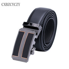 Belt 2017 Hot Fashion leather men belt Designer Luxury Famous High quality Automatic buckle Business boss men Belts for men