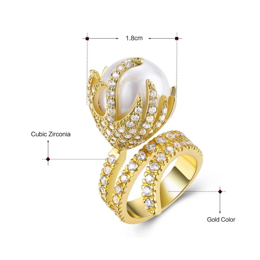pearl rings 14