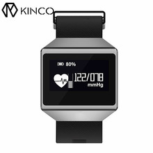 KINCO Smart Watch Waterproof Pedometer ECG Heart Rate Blood Pressure Sleep Monitor Bluetooth Bracelet Wristband for IOS/Android(China)