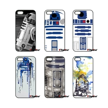 Vintage R2D2 Robot Star Wars Art Print Phone Case For Xiaomi Redmi Note 2 3 3S 4 Pro Mi3 Mi4i Mi4C Mi5S MAX iPod Touch 4 5 6(China)