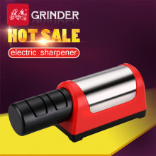 GRINDER Professional Electric Knife Sharpener Diamond & Ceramic Kitchen 2 Stage Grinder Sharpening Ceramic Knife EU Plug T1031D(China)