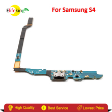 Elifeking High performance Charging Port Flex Cable Ribbon for Samsung Galaxy S4 i9505 i9500 i337 Repair Part With Free Shipping