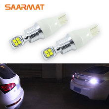 Pair Canbus 1500LM T15 W16W 912 921 LED Wedge Bulb Rear Tail Backup Reverse Light Parking Lamp Audi BMW Mercedes VW Ect