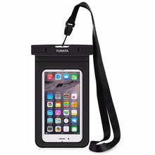 TURATA Waterproof Case for iPhone 8 7 6 Plus Samsung S7 S6 Edge Universal Waterproof Phone Pouch Bag for Smartphone 3.5-6 inch