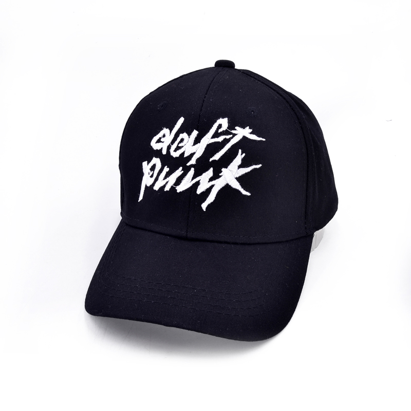 Electric music band Daft Punk embroidery Baseball cap Men Harder Better Faster Stronger letter hip-hop cap