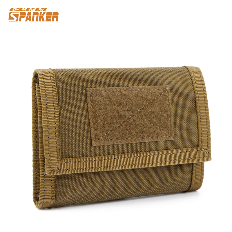 Military Tactical Outdoor Sports Nylon Trifold Wallet ID Credit Card Holder Coin Pocket Hunting Airsoft Camping Hiking Pouch<br><br>Aliexpress