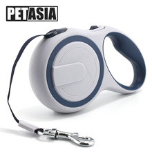 Best Pet Dog Leash Harness Collar 3M 5M Pet Product Dog Cat Lead Retractable Leash 15kg 35kg puppy walking leads Red PETASIA(China)