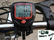 EYCI Bicycle Computer Leisure 14-Functions Waterproof Cycling Odometer Speedometer With LCD Display Bike Computers(China)
