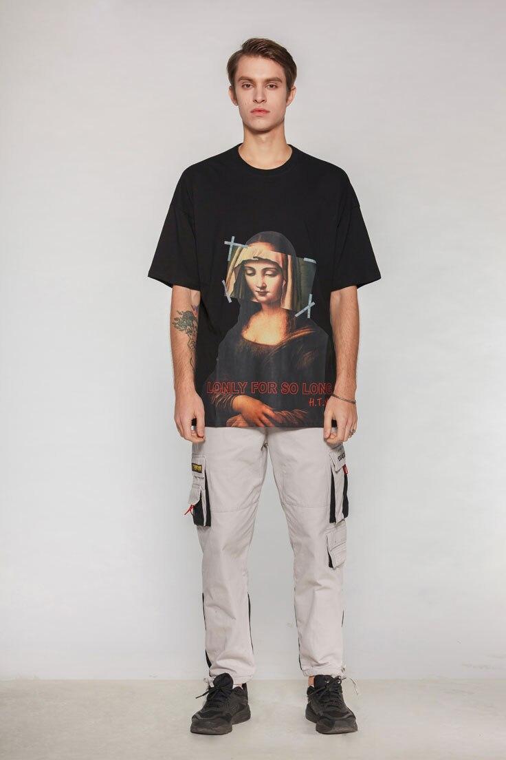 Virgin Mary Mona Lisa Printed Tshirts 1