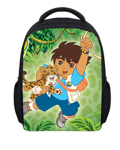 Hot Sale Small Cartoon Dora Bag Girls School Bags Cute Children Schoolbag Baby Kindergarten Backpack Mochilas School Kids free