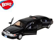 BOHS Extended Limo Toy Car Limousine  Diecast Vehicle  Models 1:32 Alloy Pullback Model  Children's Toys