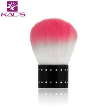 KADS Soft Nail Dust Brush Manicure Tool Cosmetic Brush For Nail Art For Powder Nail Dust Brush For Nail Art Design